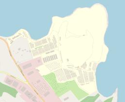 map of the new camp kara tepe moria lesvos